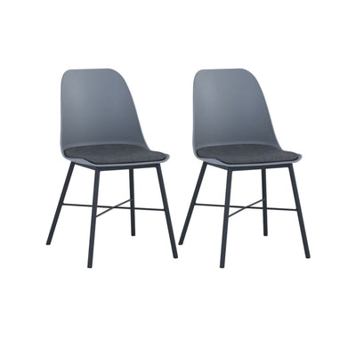 Laxmi Dining Chair in Grey Set of 2
