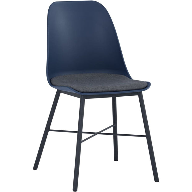 Laxmi Dining Chair in Midnight Blue Set of 2