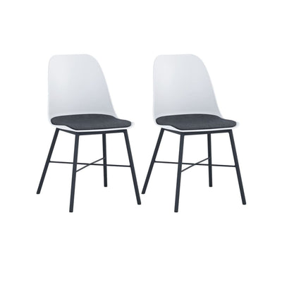Laxmi Dining Chair White Set of 2