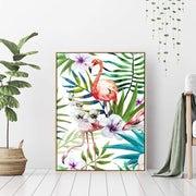 Love for Flamingo - Wall Art Print with Frame - Accessories