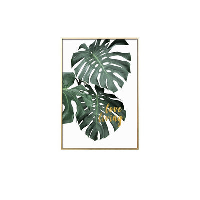 Love Living Wall Art Print with Frame
