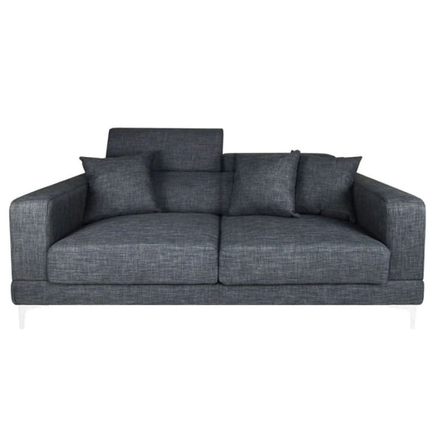 Palais 3 Seater Sofa Grey