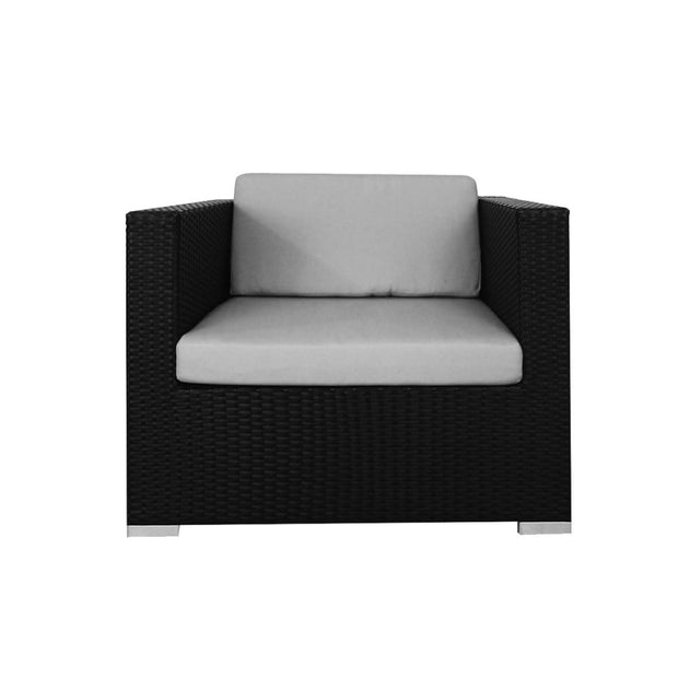 This is a product image of Palawan Patio Set Grey Cushion. It can be used as an Outdoor Furniture.
