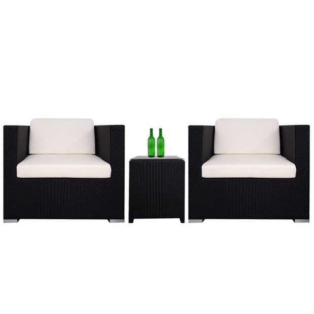 This is a product image of Palawan Patio Set White Cushion. It can be used as an Outdoor Furniture.
