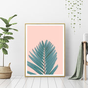 Palm Leaves - Wall Art Print with Frame