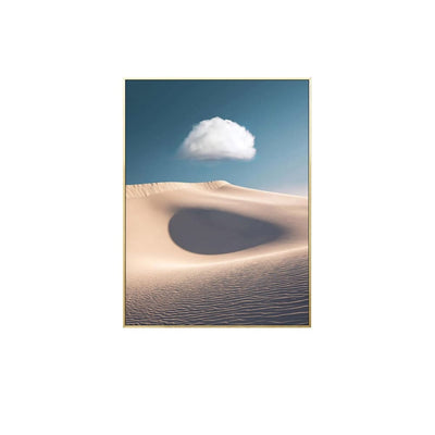 Puffy Above - Wall Art Print with Frame - Accessories