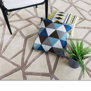 This is a product image of Rhoda Rug. It can be used as an.