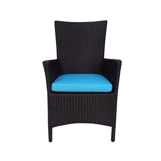 This is a product image of Santa Patio Set Blue Cushion. It can be used as an Outdoor Furniture.