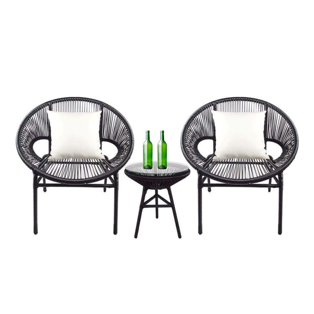 This is a product image of Shelton Patio Set White Pillow. It can be used as an Outdoor Furniture.