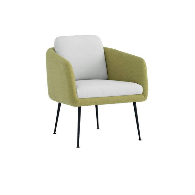 Sprinter Lounge Chair Mint Green Dimity Fabric - Arena Living