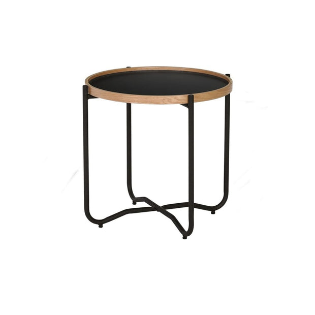 Tanix Small Coffee Table in Black Colour Top - Arena Living