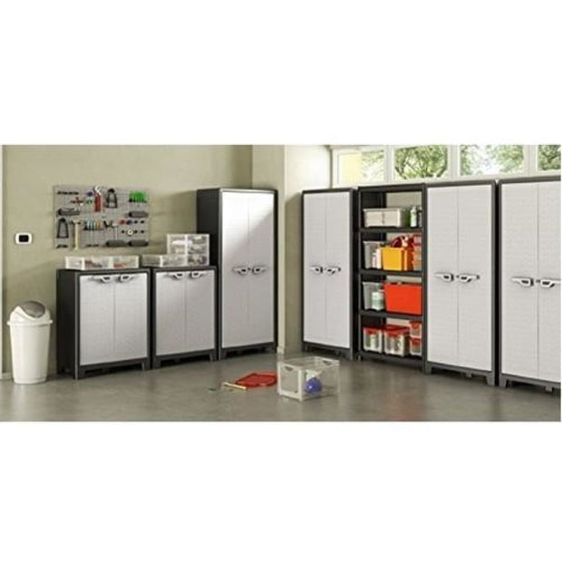 This is a product image of Titan Low Cabinet by Kis - Assembly Included. It can be used as an Storage.