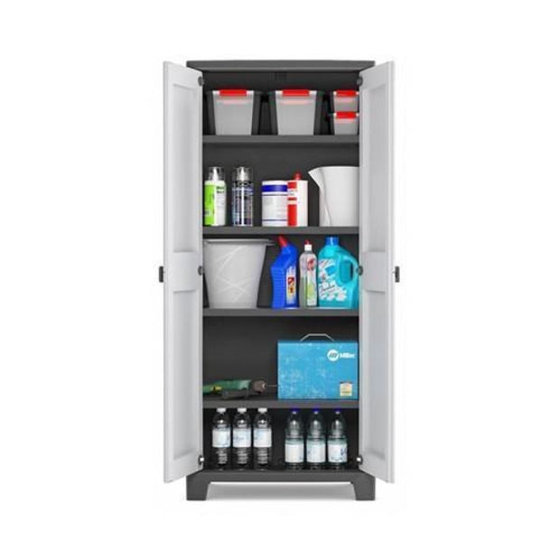 This is a product image of Titan Utility Cabinet by Kis - Assembly Included. It can be used as an Storage.