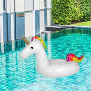 This is a product image of Unicorn Inflatable Pool Float. It can be used as an Home Accessories.