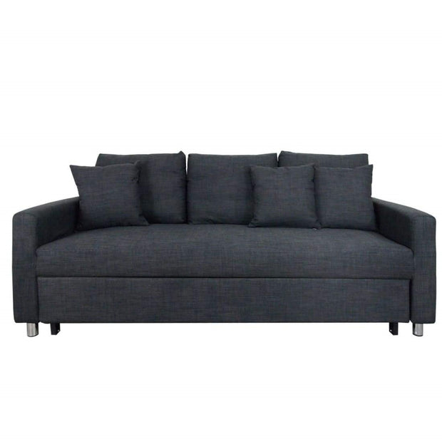 Vernon Sofa Bed Grey (3 Seater)