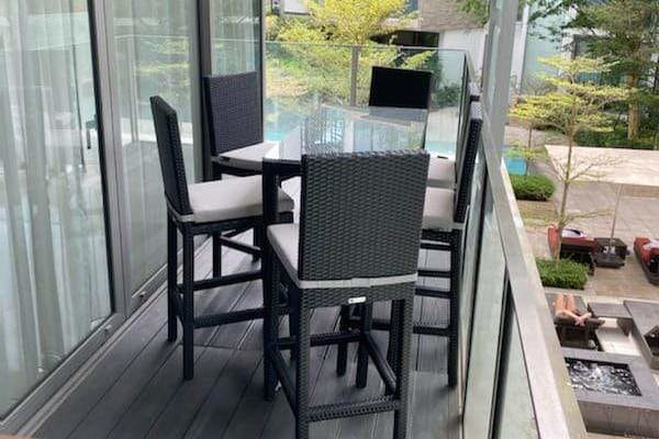 outdoor furniture in singapore balcony