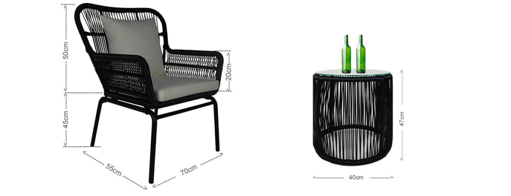 Balcony Chair and table