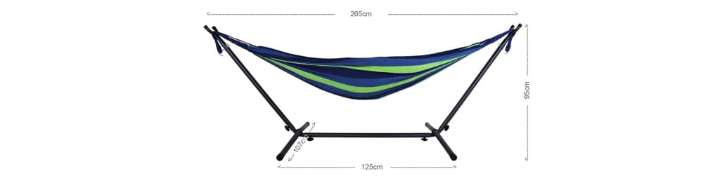 Anderson Calming Desert Hammock with Stand by MOC