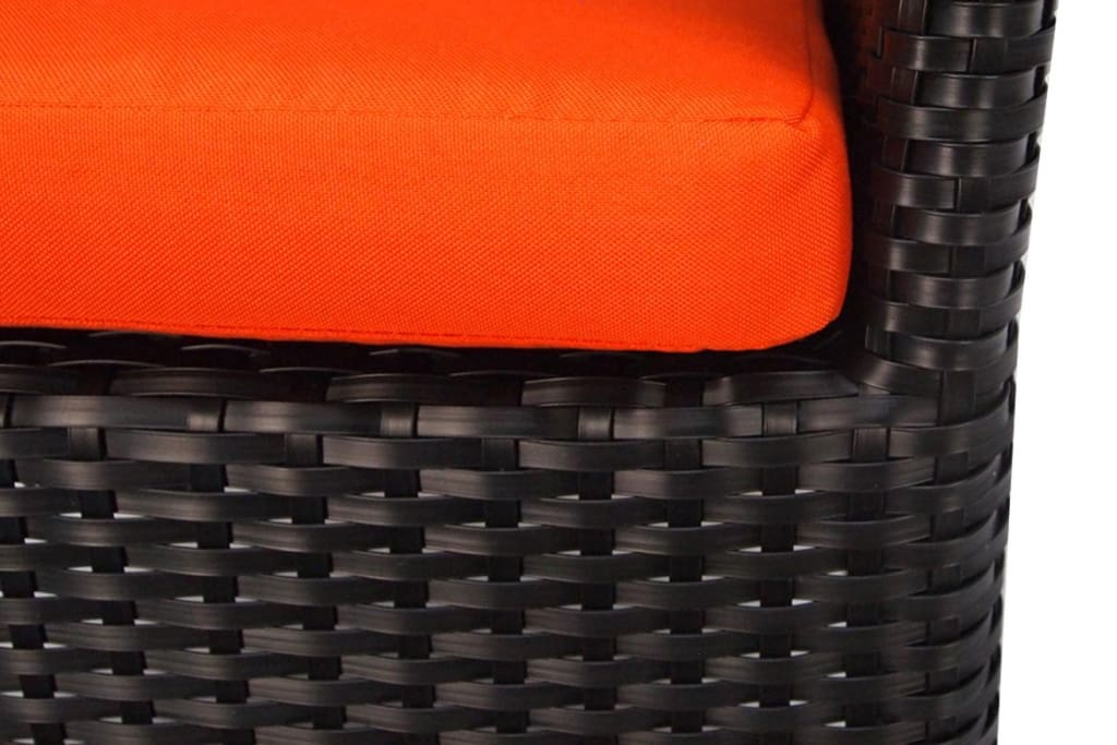 Santa Patio Set Orange Cushion