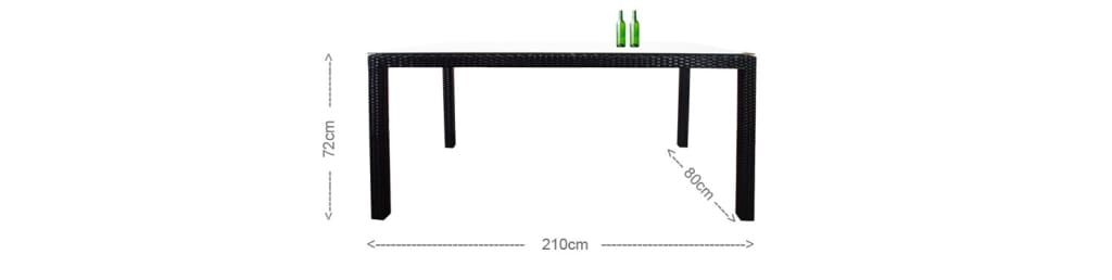 Geneva Dining Table (2.1m)