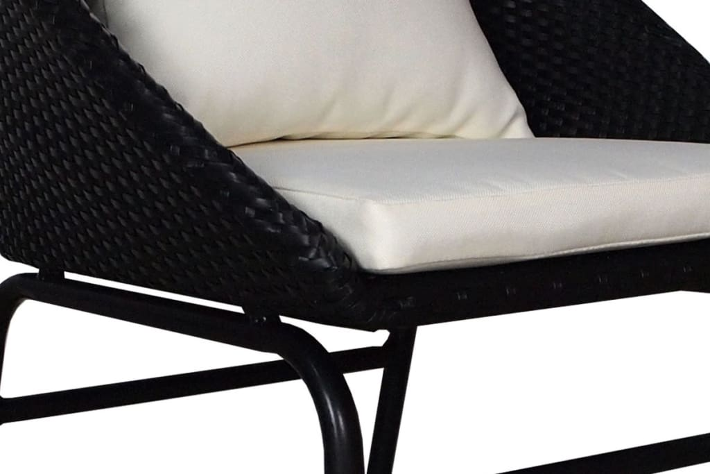 Miami Patio Single 1 Seater Armchair Cream Cushion