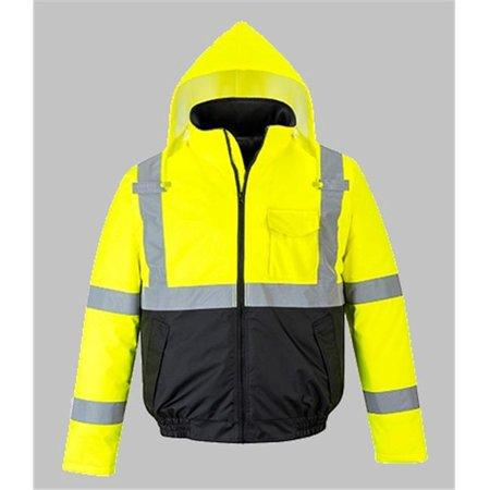 PORTWEST® Hi-Vis Two Tone Bomber Jacket US363