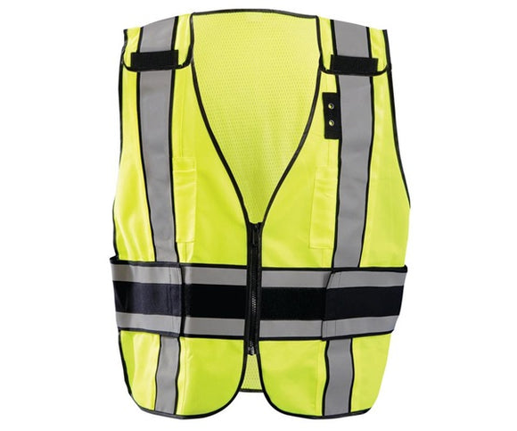 DELUX PLAIN SAFETY VEST LUX DSP DOR