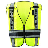 Solid front/mesh back VEST DOR treated SHERIFF LUX-DPSS-DOR