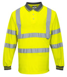 PORTWEST® HI-VIS Long Sleeve Polo CLASS 3 S277
