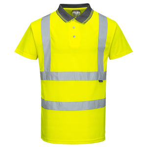 HI-VIZ Short Sleeve Polo Shirt S477