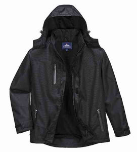 PORTWEST® OUTCOACH JACKET BLACK S555