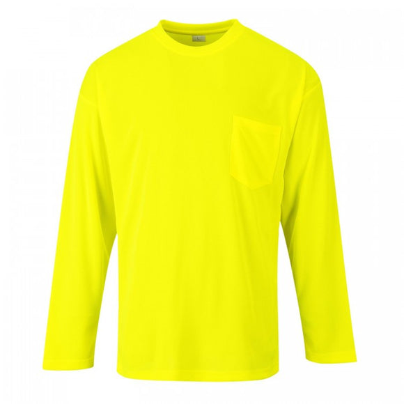 Non Ansi Pocket Long Sleeve T-Shirt S579