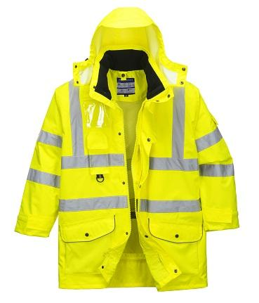 PORTWEST®  7 n 1 Hi-Vis Traffic Jacket US427