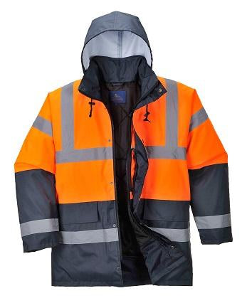 PORTWEST® Hi-Vis Two Tone Traffic Jacket US467