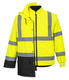 PORTWEST® Hi-Vis 5 n 1 Executive Jacket US768
