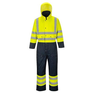 PORTWEST®  HIGH-VIZ Contrast Coverall Lined S485
