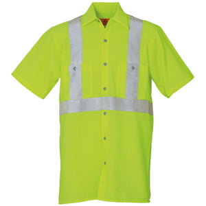 REED FLEXIONS HI-VISIBILITY SHIRT 100%  POLYESTER SSYC21