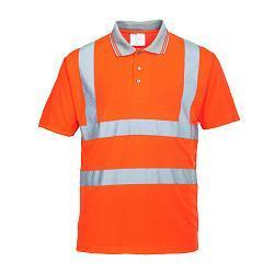 HI-VIZ Short Sleeve Polo Shirt RT22
