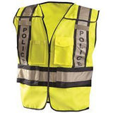 POLICE SAFETY VEST NON TREATED LUX-PSP