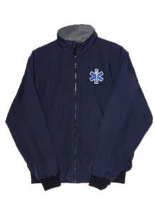 GAS MEDIC EMBROIDERED FLEECE JACKET