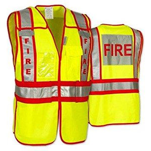 Fire SAFETY Vest Solid non treated LUX-PSF
