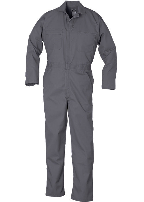 INDUSTRIAL COVERALL UNLINED CHARCOAL 552C2