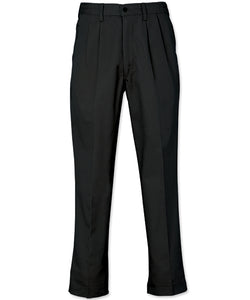 REEDFLEX® PLEATED WORK PANTS - Black 740P