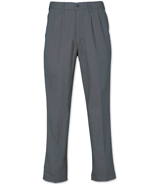 REEDFLEX® PLEATED WORK PANTS - Charcoal 752P