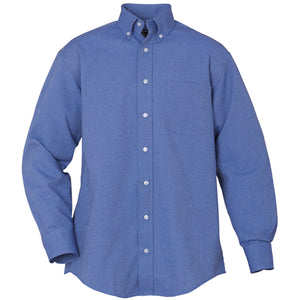 EXECUTIVE LONG SLEEVE FRENCH BLUE 60% COTTON 40% POLYESTER  9230