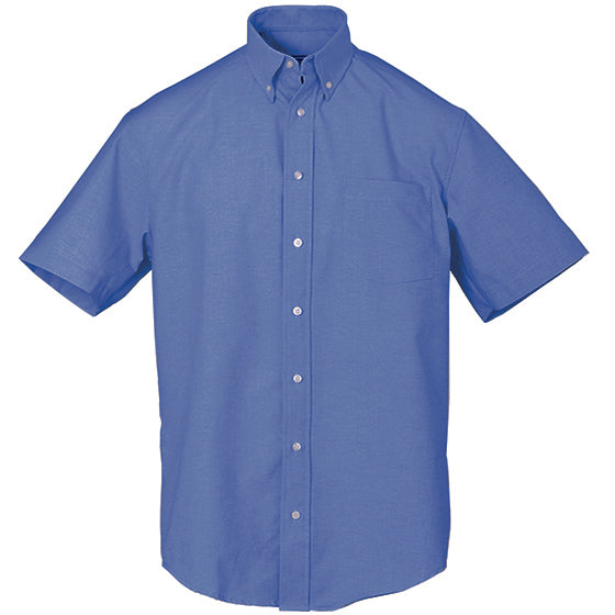 EXECUTIVE SHORT SLEEVE FRENCH BLUE 60% COTTON 40% POLYESTER 930