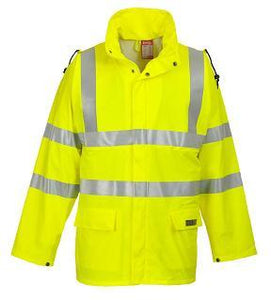 PORTWEST®  Sealtex Flame Hi-Vis Jacket Yellow FR41