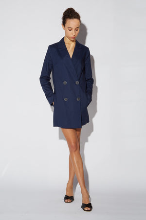 Florence Blazer Dress Linen Thumbnail