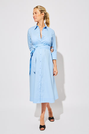 MN x HATCH Maternity Shirt Dress