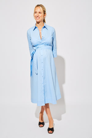 MN x HATCH Maternity Shirt Dress Thumbnail